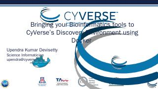 CyVerse 2016 - cloudfront.net
