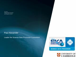 Data Analytics support Science analysis - SKA...