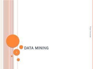 Data Mining: Decision Trees