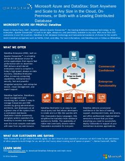 DataStax - Microsoft Download Center