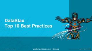 DataStax Top 10 Best Practices