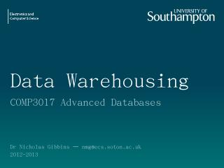 data warehouse - EdShare