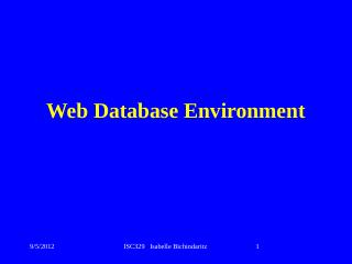 Database systems design