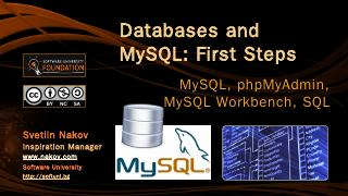 Databases and MySQL - SoftUni