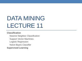 datamining lect11