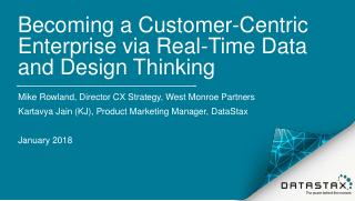 Becoming a Customer-Centric Enterprise Via Re...