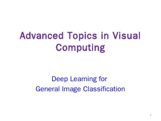 Deep Learning based Approaches - Keze Wang