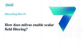 Deep dive#6 Milvus如何实...