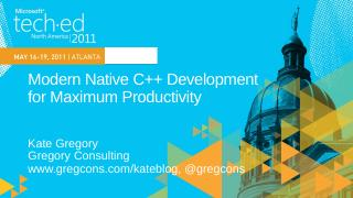 DEV303: Modern Native C++ Development for Max...