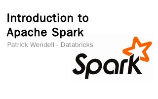 Developing with Apache Spark - Andrew.cmu.edu