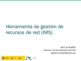 Diapositiva 1 - RedIRIS