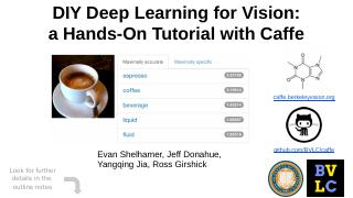 DIY Deep Learning for Vision: a Hands-On Tuto...