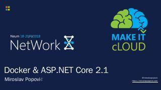 Docker & ASP.NET Core