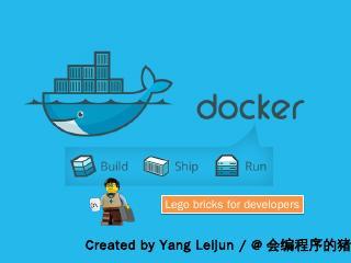 Docker Lego bricks for developers