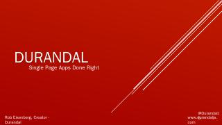 Download - Durandal