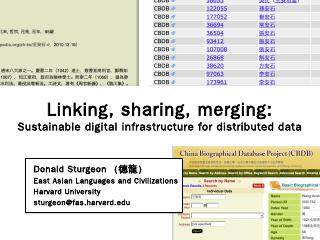 East Asian Languages and Civilizations ... - ...