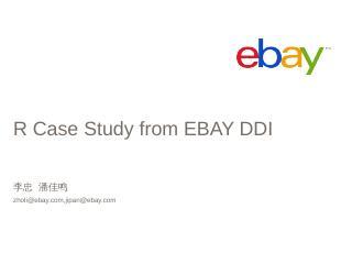 eBay BI Platform & Architecture Best Parctices