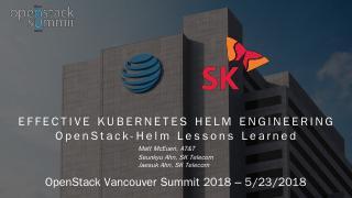 Effective Kubernetes Helm engineering - OpenS...