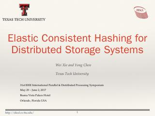 Elastic Consistent Hashing for Distributed St...