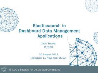 Elasticsearch - CERN Indico