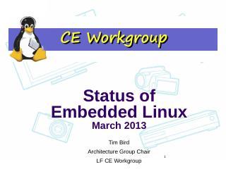 elinux status - eLinux.org