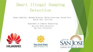 Energy Efficient Illegal Dumping Detection Us...