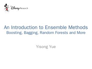 Ensemble Methods Boosting, Bagging, Random Fo...