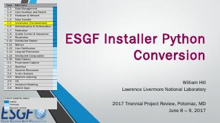 ESGF Installer Python Conversion Final.pptx -...
