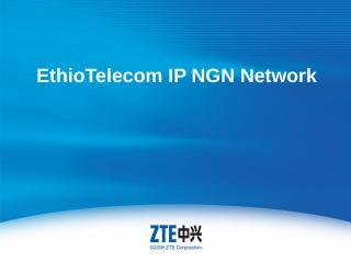 EthioTelecom IP NGN Network