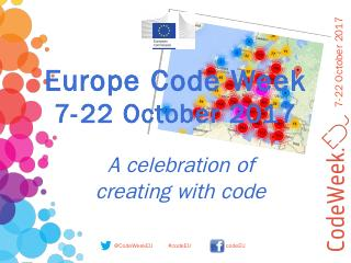 EU Code Week 10-18 October 2015