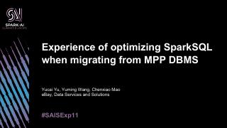 experience-of-optimizing-spark-s