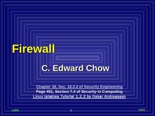 Firewall - UCCS