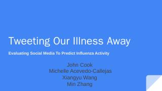 Flu Activity Detection by 10 Regions