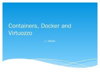 For Docker
