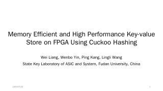 FPGA - FPL 2016