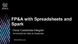 fpu0026a with spreadsheets and spark