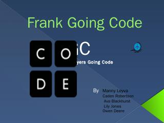 Frank Flyers Going Code