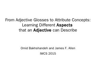 From Adjective Glosses to Attribute Concepts