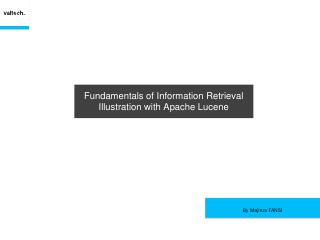 Fundamentals of Information Retrieval, Illust...