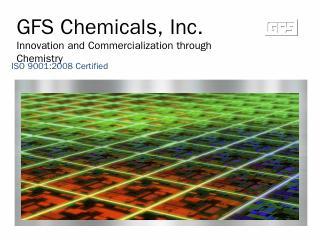 GFS Chemicals Organic Manufacturing - GFS Org...