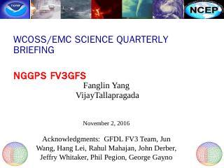 GFS Workflow - NOAA