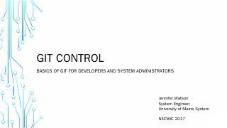 GIT Control