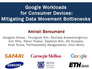 Google Workloads for Consumer Devices