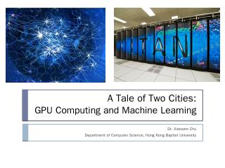 GPU Computing and Machine Learning - Departme...
