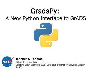 GrADSpy: A New Python Interface to GrADS