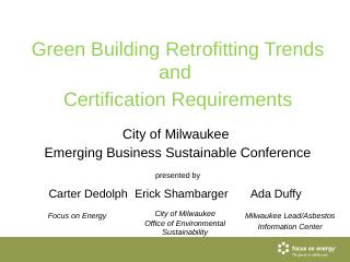 Green Building Retrofitting Trends And - Milw...