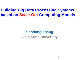 Hadoop Distributed File System (HDFS) YSmart ...