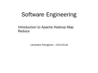 Hadoop MapReduce - novice.softlab.ntua.gr