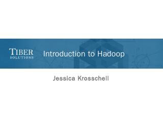 Hadoop - Tiber Solutions