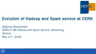 HadoopatCERN_Hepix2018spring.pptx - CERN Indico